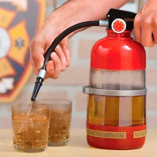 Brannslukker Drink Pumpe 1,5L 33cm fra Gamezone. Om denne nettbutikken: http://nettbutikknytt.no/gamezone-no/