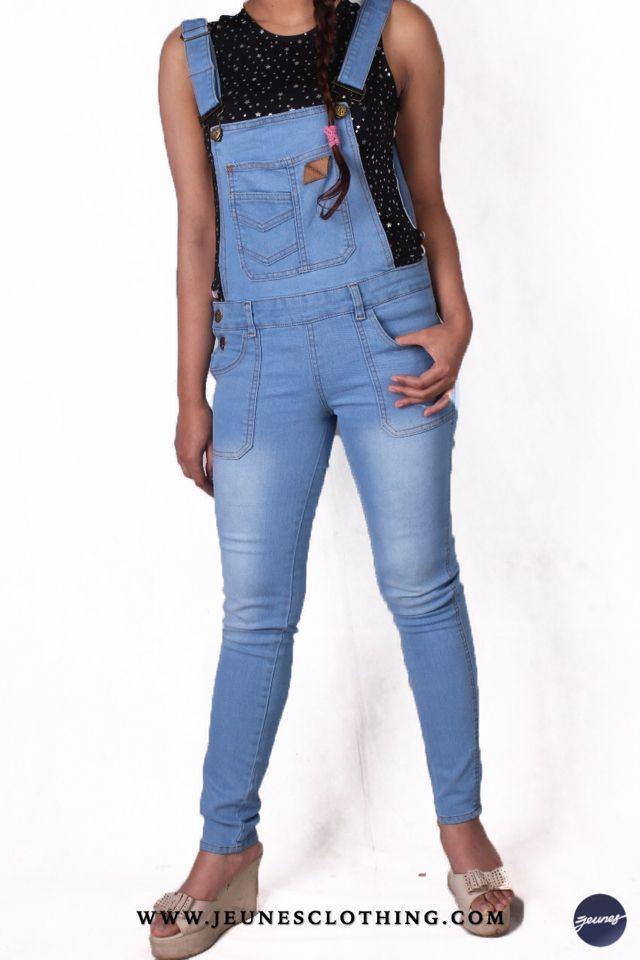 LADIES!  Article: Denim Jumper (Overall) Size: s - xl Price: 300,000 idr  WWW.JEUNESCLOTHING.COM