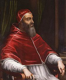 """Pope Clement VII, Pope from 1523 to 1534, and the main player in Henry and Anne's """"Great Matter."""" He was responsible for excommunicating both Henry VIII and Thomas Cramner over the marriage."""