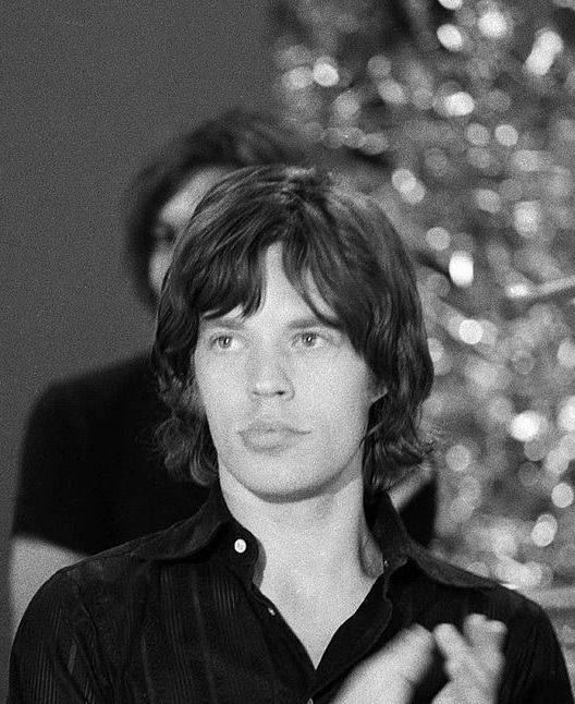 """""""Mick Jagger on set of The Ed Sullivan Show during the Rolling Stones rehearsals, November 19th, 1969, by CBS """""""