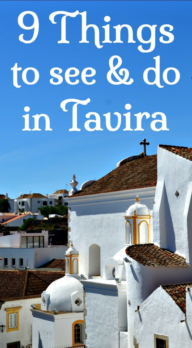things to see and do in tavira algarve portugal with strong moorish roots