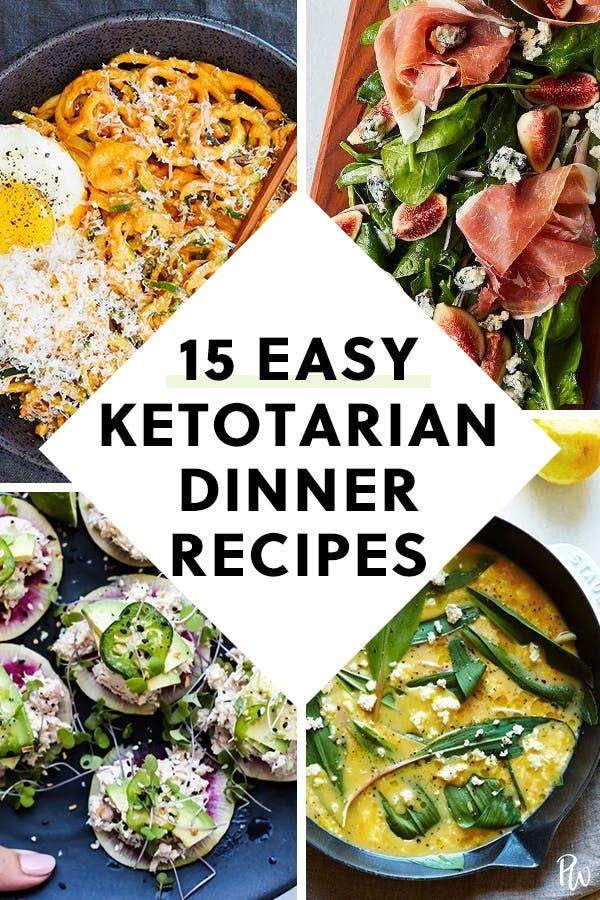 Die ketotarische Ernährung ist im Trend (und hier sind 15 Rezepte zum Abendessen) #pur …