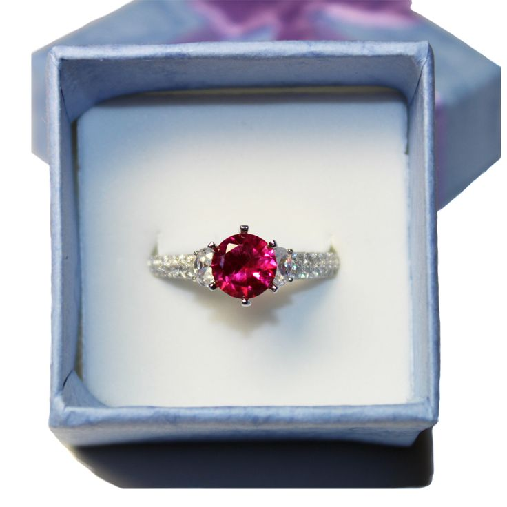 22 best Ruby Promise Rings images on Pinterest | Beautiful ...