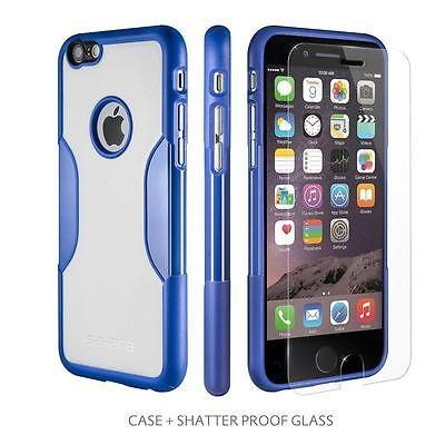 Sahara Night Sky Case for iPhone 6 with Tempered Glass Screen Protector