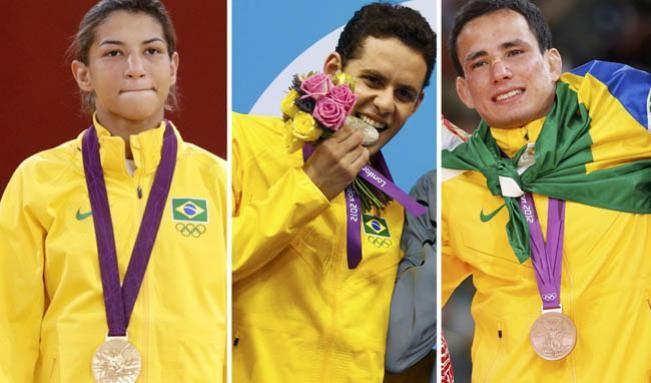 Medalhas no judô e na natação dão ao Brasil 12º lugar nos Jogos Olímpicos