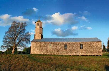 Iglesia de San Javier, Island of Chiloe, Chile