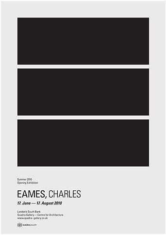 Via Six Black Dots | Quadra Gallery Charles Eames Exhibition Print by Donna Wearmouth