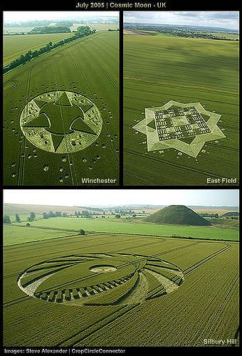 Crop Circles - Early July 2005 | Cosmic Moon | Crop Circles … | Flickr