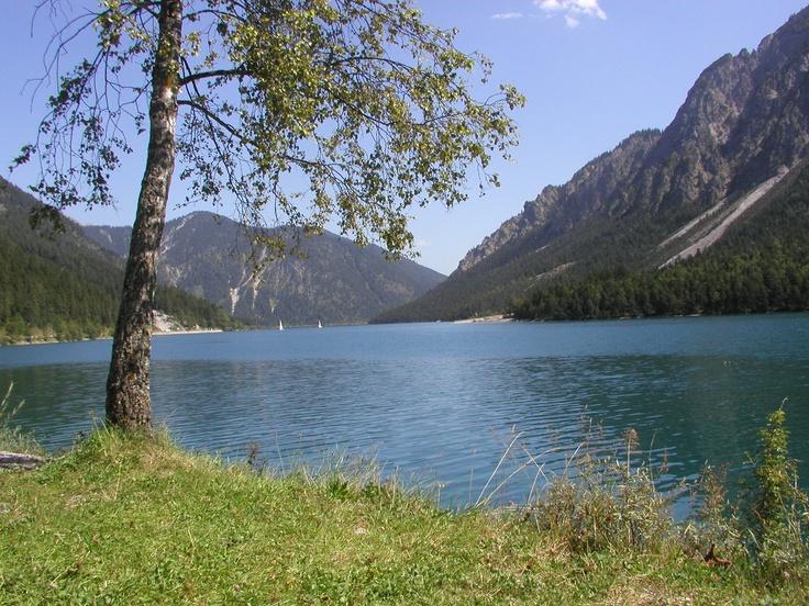 Plansee - wunderschöne Cabriostrecke durch den Ammerwald ** Cabrio tour at lake Plansee, Ammergau Alps, Bavaria