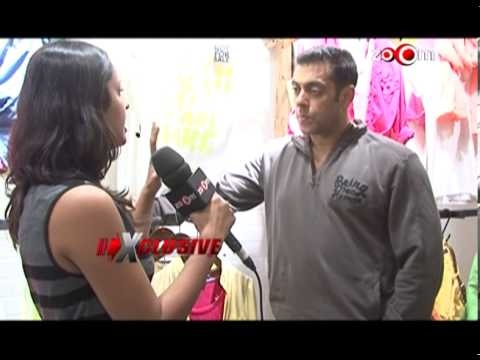 Salman invites you to his new clothing store-Indian Bollywood