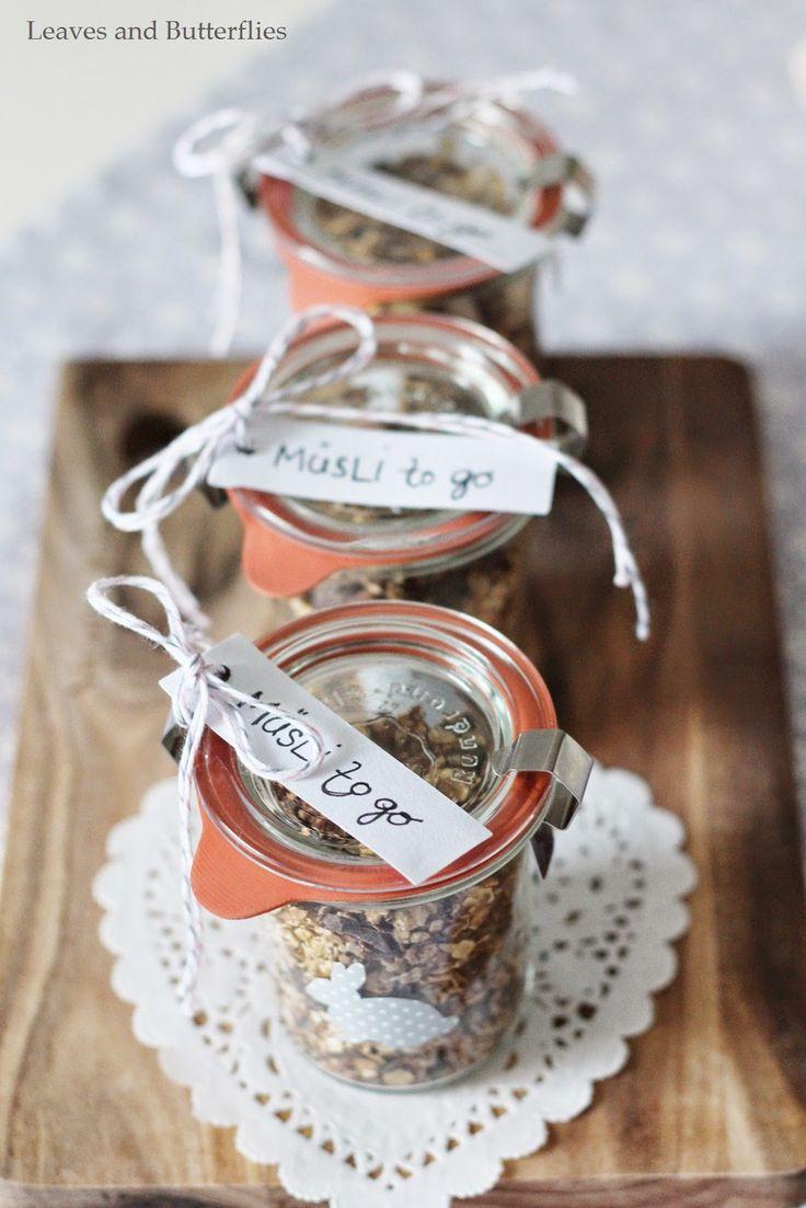 Müsli to go | eine süße Geschenkidee – nicht nur zu Ostern | gefunden auf leavesandbutterflies.blogspot.de