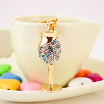 Wine Glass Rhinestone Keychain – Wine O'Clock Somewhere  #wine #jewelry #moms #Christmas #Gift