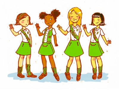 Image result for girl scouts clip art