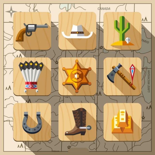Illustrations and icon sets in flat style – Fubiz™