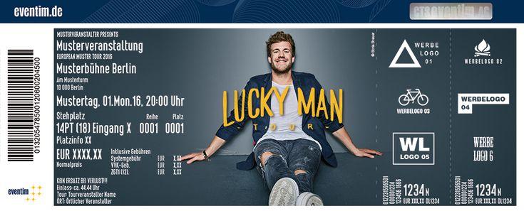"""Ab Januar startet Comedian Luke Mockridge mit seinem neuen Programm """"Lucky Man"""" voll durch!"""