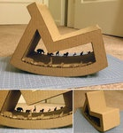Amazing cardboard chair