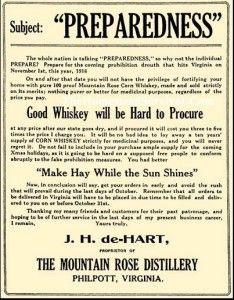 Cornmeal whiskey mash recipe