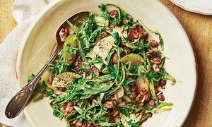 The weekend cook: Thomasina Miers' borlotti bean salad and wild black bream recipes | Life and style | The Guardian