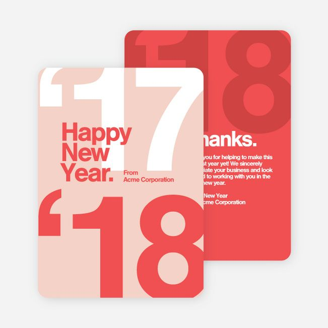 The 25+ best New year card design ideas on Pinterest | New year ...