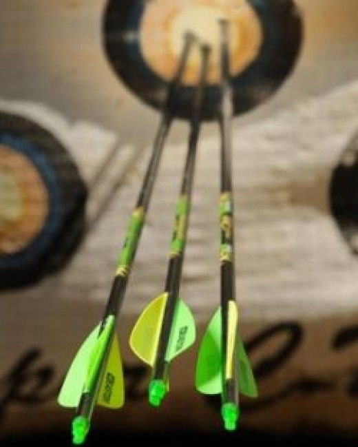 We have a full selection of arrows in the Kenco archery department, and knowledgeable staff to help you pick the right ones.