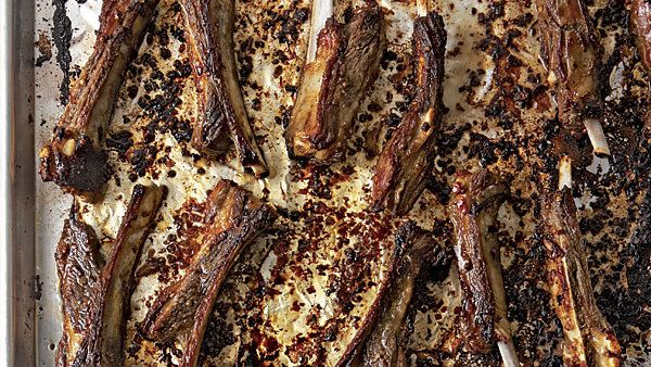 Vietnamese-Style Lamb Riblets with Sweet Soy Dipping Sauce - FineCooking