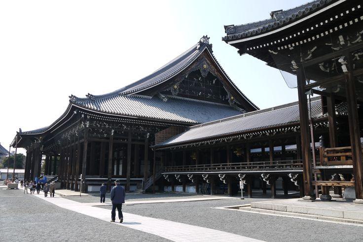 Nishi-honganji Temple @ Kyoto - Japan