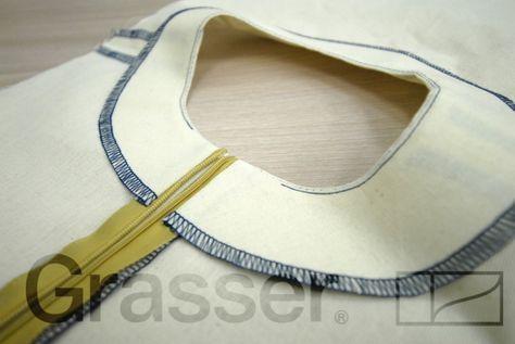 Технология пошива. Обработка обтачкой.