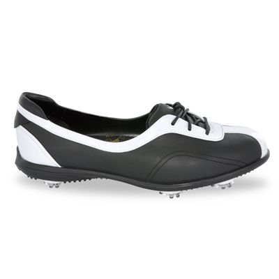 Callaway 2011 Couture Half Lace Womens Golf Shoes Black White