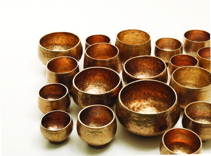 "Lee Bong-ju's ""Bangjja Meditation Bowl Bells""."