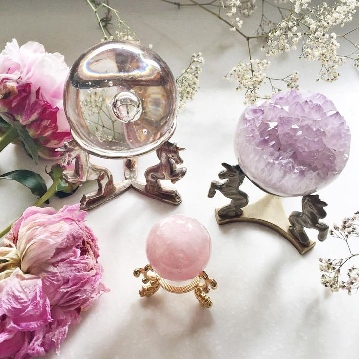 "emiunicornn: ""Shop our crystal ball stands crystal balls sold separately…"