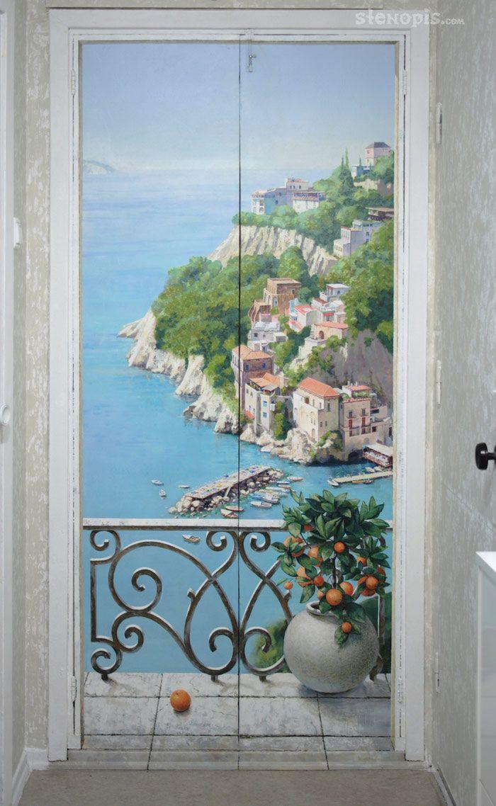 322 best trompe loeil images on pinterest wall murals mural rospisstenitalyanskiybalkon 003g 7001138 amipublicfo Choice Image