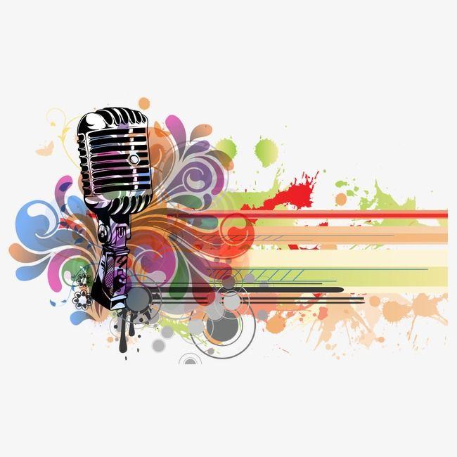 Microfone Microfone Clipart Microfone Instrumentos Musicais Png Imagem Para Download Gratuito Music Wallpaper Music Images Background Design Vector