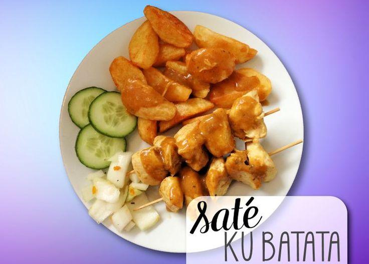 SATÉ KU BATATA - Zonder twijfel hét meest gevraagde recept uit de Antilliaanse keuken. De sate ku…