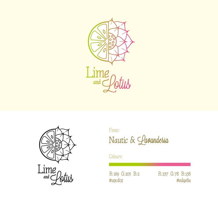 Create a stunning upscale logo for Lime and Lotus Healing Arts Center! by Czarna Wdowa