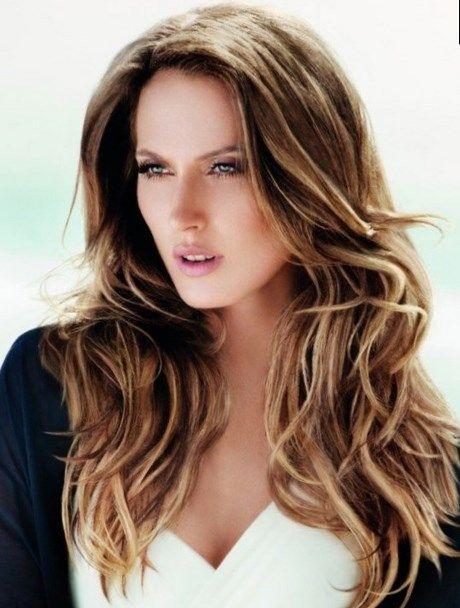Langhaarschnitt 2018 Frisuren Hair 2016 Trends Beauty