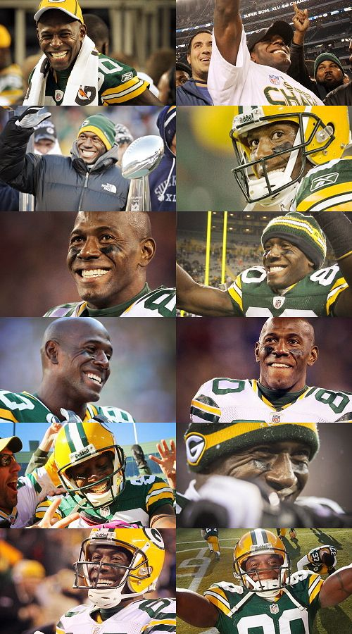 Donald Driver--will miss your smile, dance, and amazing talent