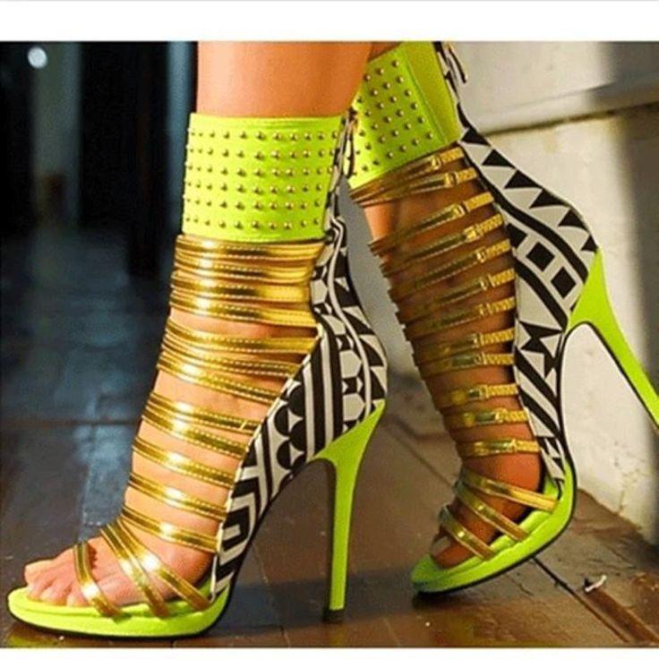 $74.99 ~ Women's New Strappy High Heel Sandals Back Open Toe Pump Wedding Sanda – AZMODO.COM