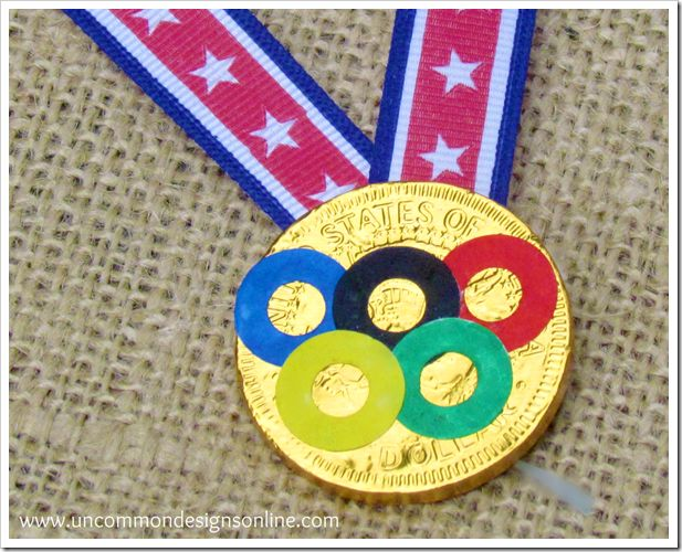 best olympic medal craft i have seen yet - and easiest!