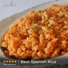 """Best Spanish Rice 