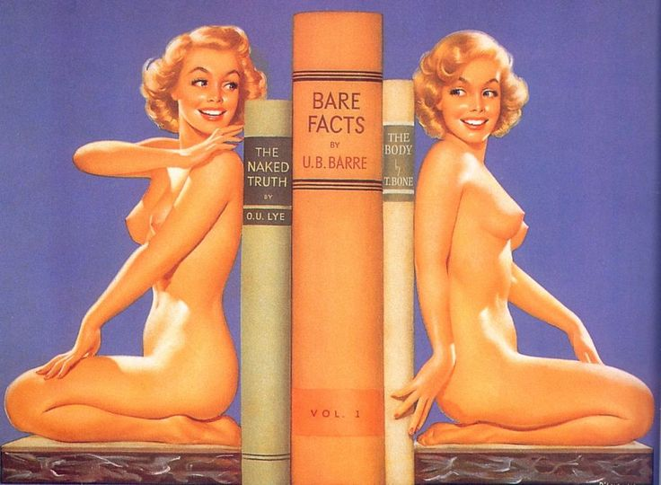 Pin up bookends.