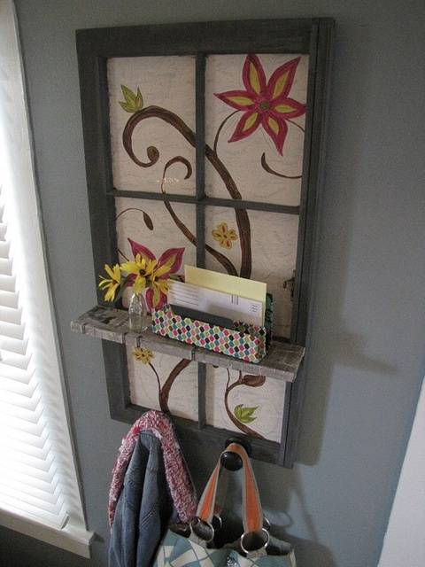 DIY entryway storage, paint it to match your decor!
