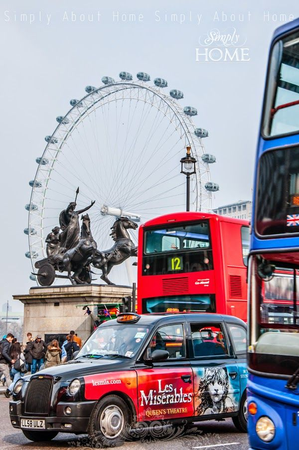 simply about home: #London #red #bus #England #uk #city #architecture #londoneye