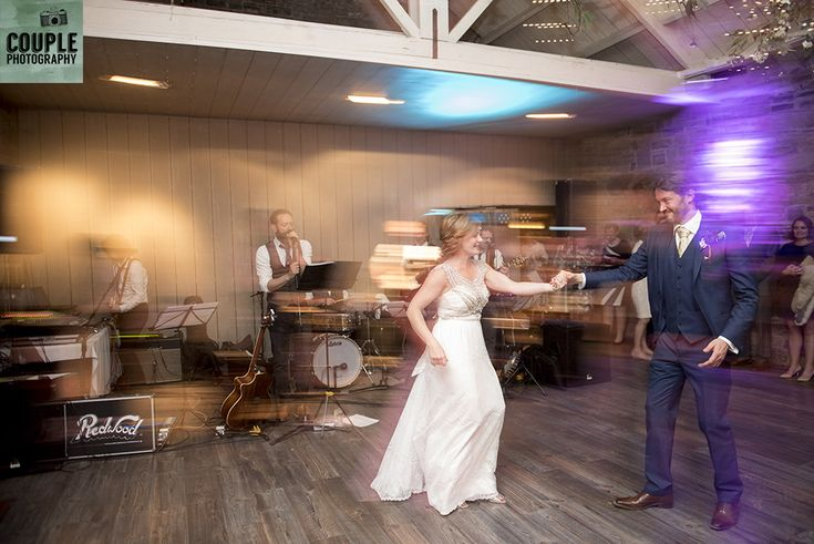 The quickstep. Weddings at Ballymagarvey Village photographed by Couple Photography.