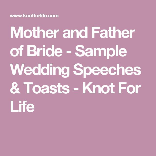 how to write a wedding speech bride