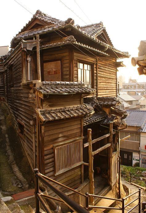 Onomichi Gaudí House, Hiroshima,  Japan 旧和泉家別邸 通称尾道ガウディハウス