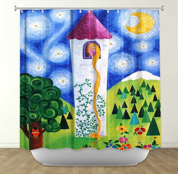 17 best images about Artistic shower curtain on Pinterest | A ...