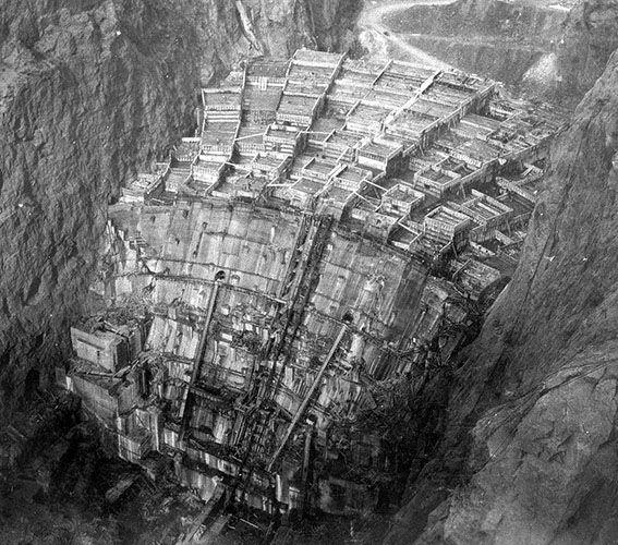 hoover dam construction