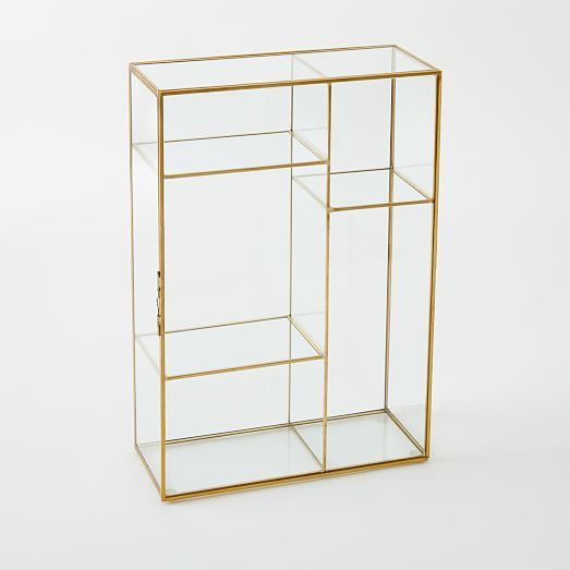Gold Shadow Box - Display Case | west elm.  Only in stores!