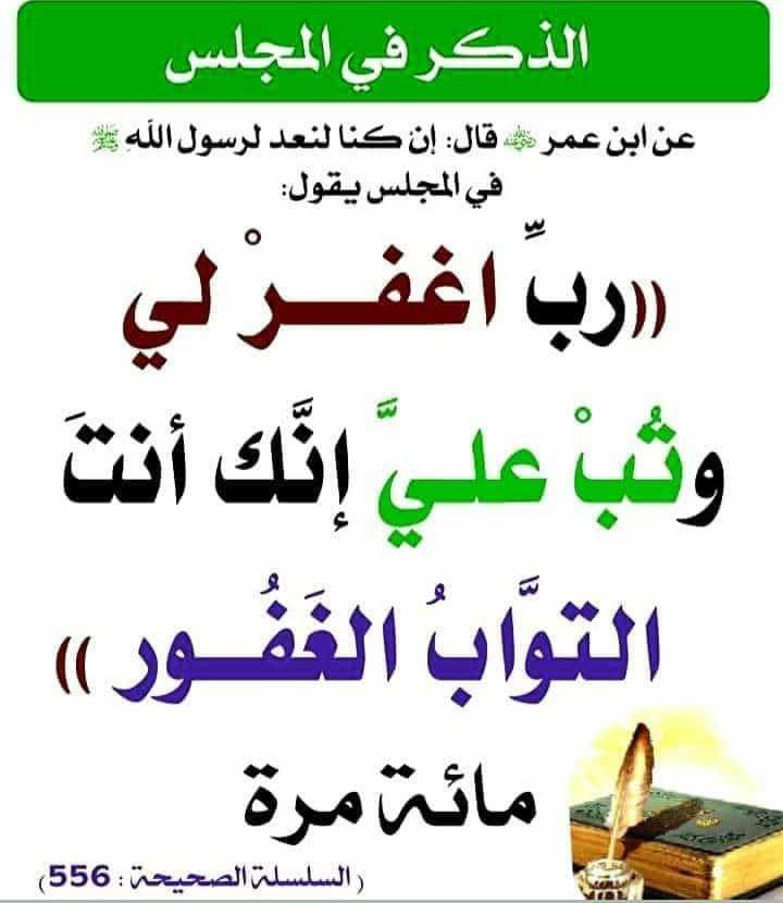 فضل الاستغفار Arabic Calligraphy Calligraphy