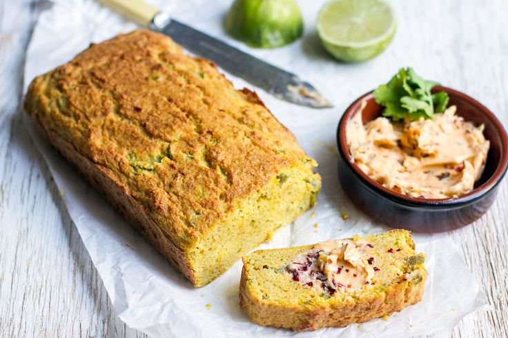Jalapeño Coconut Bread with Chipotle Butter - I Quit Sugar